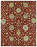 Cheap Kaleen Rugs Helena Collection 3202-25 Red Hand Tufted 2′ x 3′ Rug