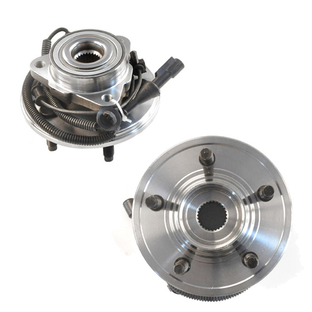 DRIVESTAR 515050 Pair Wheel hub /& Bearing Assembly Front for Ford Explorer Lincoln Aviator Mercury Mountaineer 4 Door w//ABS