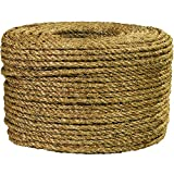 Ship Now Supply SNTWR134 Rope, 3/8'', 1, 200 lb., 600', 0.375'' width, Manila