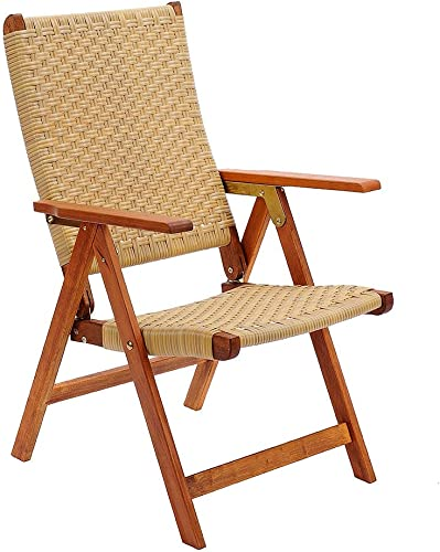 Folding Wooden <span>Boat Deck Chair</span> Picture