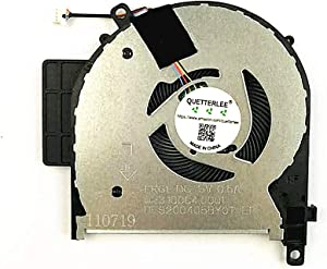 QUETTERLEE Replacement New CPU Cooling Fan for HP Envy X360 15-CP 15-CN 15M-CP 15-cp0053cl 15-cp0076nr 15-cp0078nr 15-cn0001la 15M-CN 15M-CN0011DX TPN-W134 TPN-W135 Series L23569-001 L20107-001 Fan