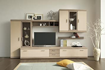 Imperial Entertainment Center Modern Wall Units Capacity Storage Living Room Design