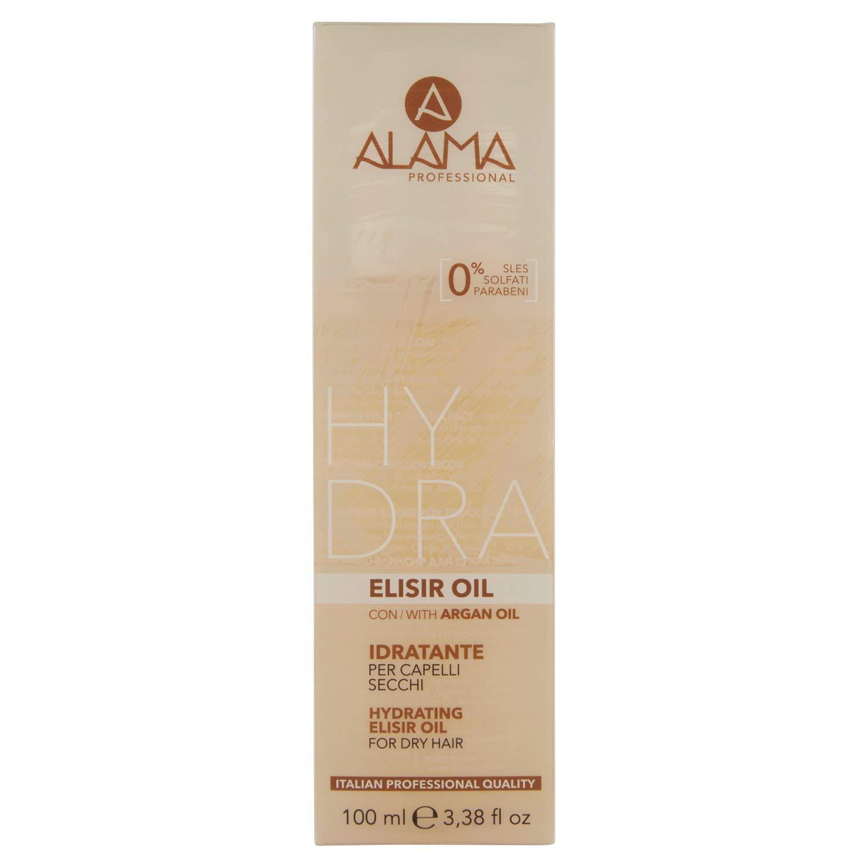 Alama Professional HYDRA Elisir Oil Idratante per Capelli Secchi - 100 Millilitri Beauty Application AABAPPL18696