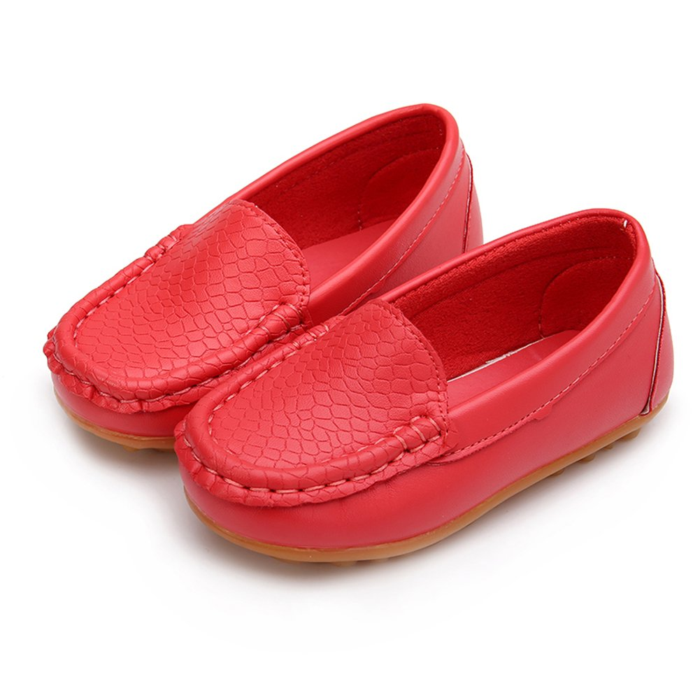 O&N Boy's Girl's Slip-on Loafers Flats Oxford Shoes (Toddler/Little Kid/Big Kid)