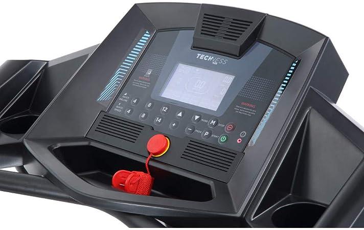 Techness Cinta de Correr Run 200 Touch MP3 2016 hasta 16km/h y 12 ...