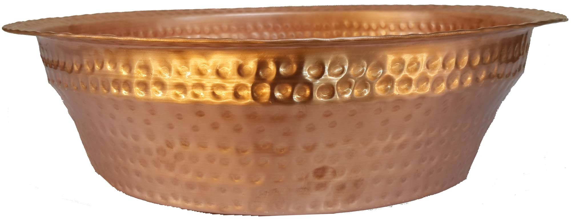 Egypt gift shops HAND MADE Polished Foot Bath Washing Soaking Massage Spa Pedicure Bucket Leg Toes Care Manicure Bowl by Egypt gift shops (Image #3)