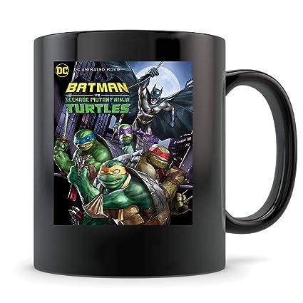 Amazon.com: Batman-vs.-Teenage-Mutant-Ninja-Turtles Mug 11oz ...