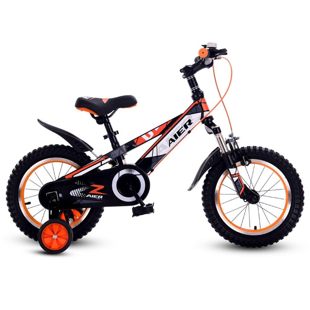 最高の品質の 子供の自転車12/14 :/16インチ衝撃吸収男性と女性の子供の自転車2~8歳の赤ちゃんの自転車オレンジ ( ( Size : 16 inch orange orange ) B07DP2PHXY, 手づくり はんぺん 政七屋:bd27ce14 --- efichas.com.br