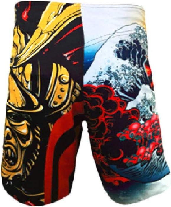 YSYFZ Short de Combat pour Homme Boxe Course /à Pied Short dentra/înement MMA BJJ UFC
