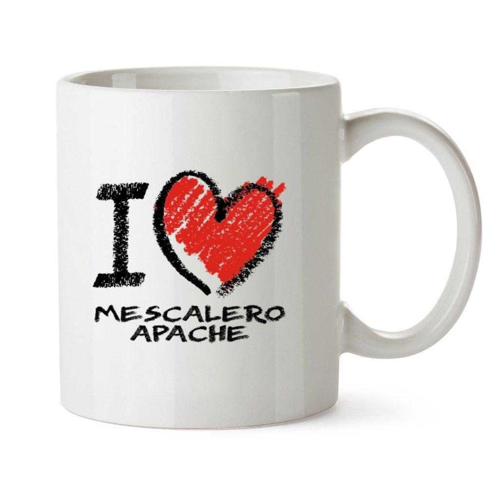 Amazon Idakoos I Love Mescalero Apache Chalk Style