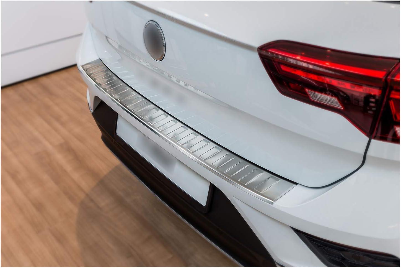 Tuning Art Bl932 Ladekantenschutz Mit Abkantung Für Vw T Roc A1 2017 Farbe Silber Auto