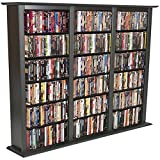 Venture Horizon Media Storage Tower-Regular Triple Black