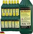 12 Litres de Haute-Performance Bio-éthanol en Bouteilles de 1 Litre