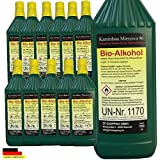 12 litri di High-Performance Bio-Etanolo / Con la tutela dei minori e riempimento ugelli ad ogni bottiglia