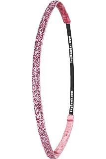 Leoparden Pinkes Haarband Slimline 1.6 cm breites pinkes Slimline Das Anti-Rutsch Haarband IVY777 Ivybands/® One size Pink