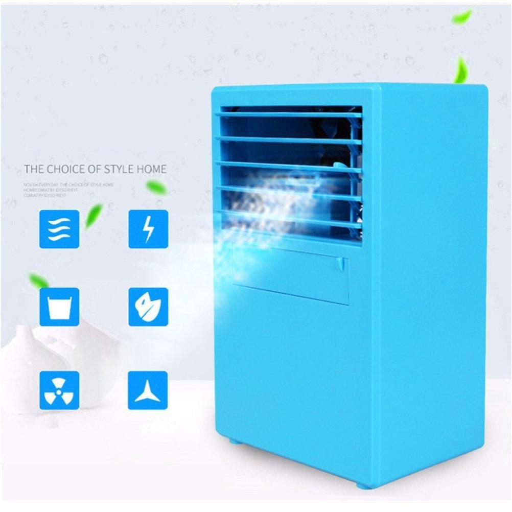 BZLine Mobile Klimager/äte Ventilator Mini Klimaanlage Ventilator Luftk/ühler Personal Air Cooler Conditioner mit Luftbefeuchter Klimaanlage Verdunstungsk/ühler Wei/ß
