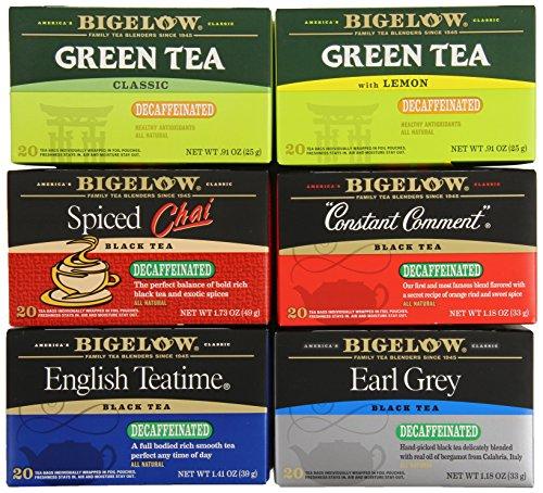 Bigelow Mixed Decaf Teas, 120 Count