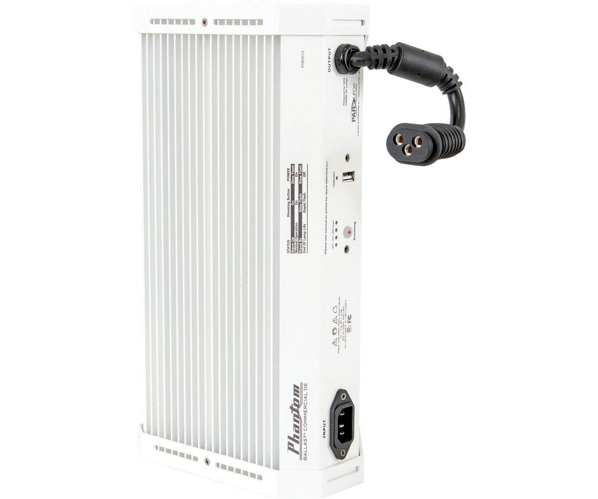 Phantom Commercial 1000W Double-Ended Digital Ballast w/USB interface - HPS, 208-240V