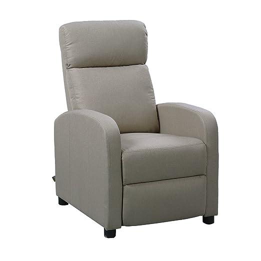 Subitoit Poltrone Relax Usate.Italian Concept 72 Amabel A Poltrona Relax Legno Beige 65 X