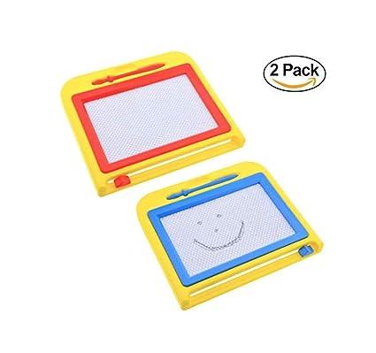 Amazon.com: 2 tablas de dibujo borrables. Tableta de dibujo ...