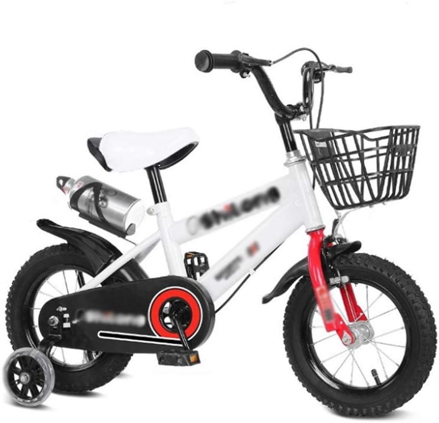 M-YN Bicicleta Niños con Ruedines Los niños niños de la Bici del ...
