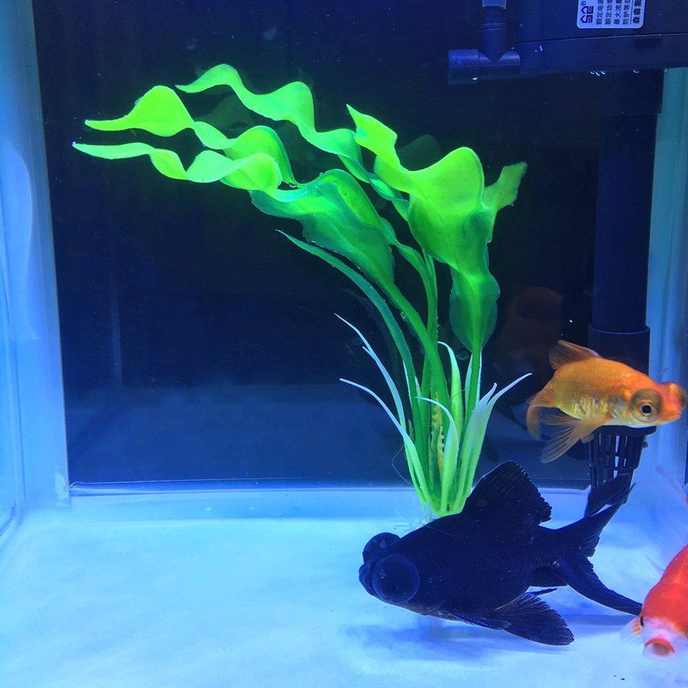 Passica Decoración de acuario para plantas artificiales (10 unidades): Amazon.es: Productos para mascotas