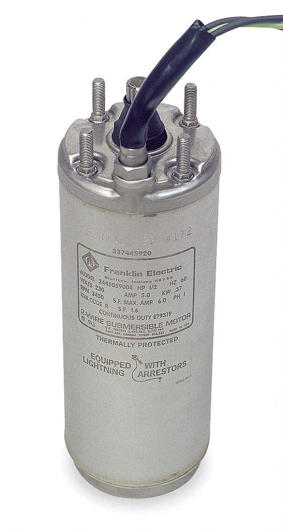 Franklin Electric 1-1/2 HP Deep Well Submersible Pump Motor