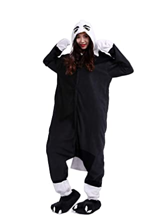 Fandecie Unisex Adulto Animal Costume Traje Pijamas Jumpsuit ...