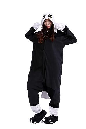 Fandecie Unisex Adulto Animal Costume Traje Pijamas Jumpsuit ...
