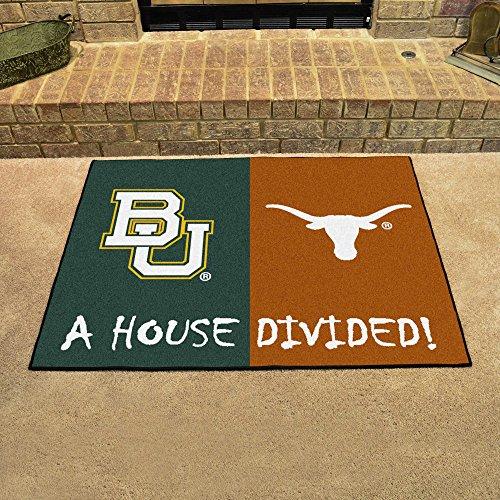 (Fan Mats 7651 Baylor Bears vs Texas Longhorns 34