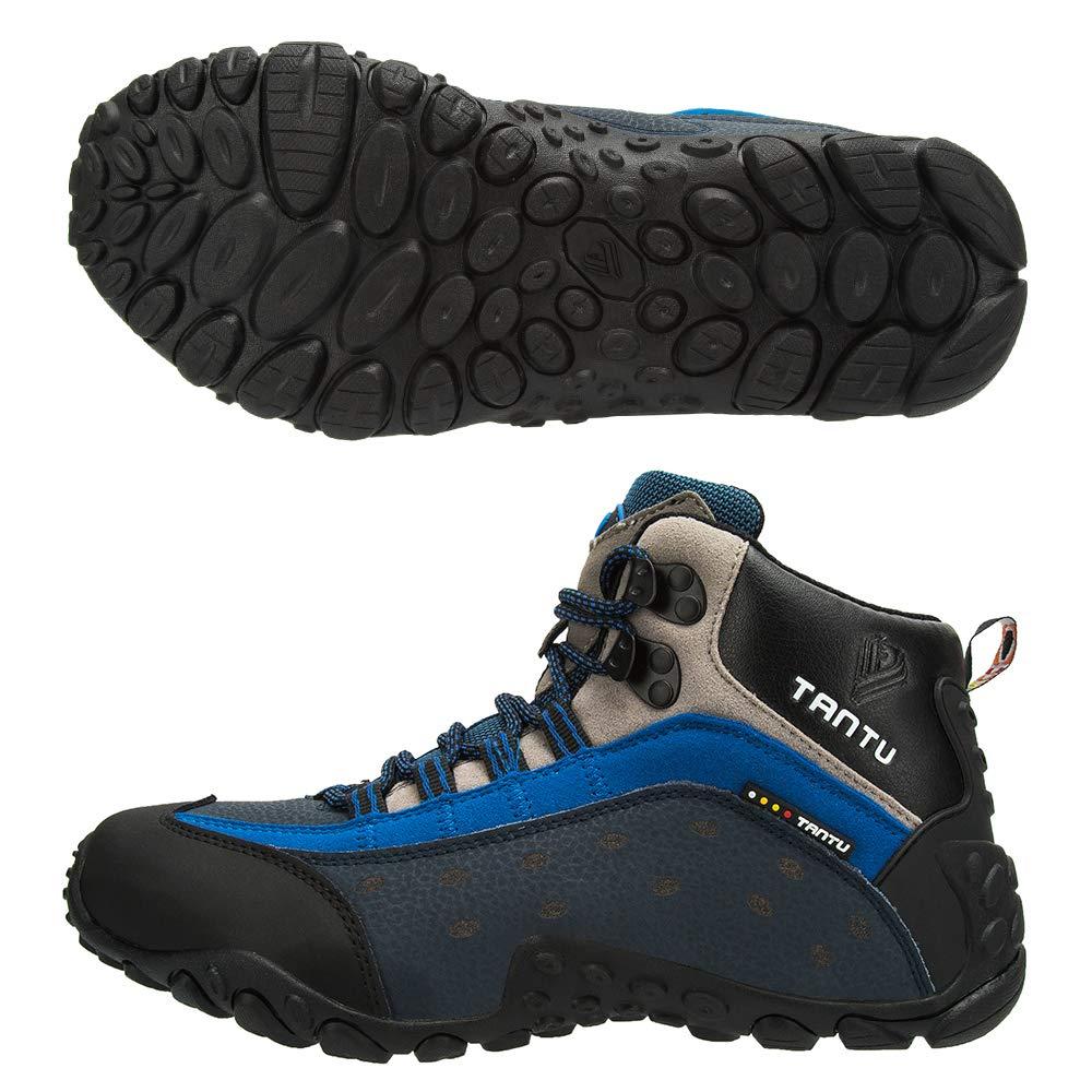 9dc436b740b Amazon.com | TANTU Men's Hiking Boots Waterproof High Top Winter ...