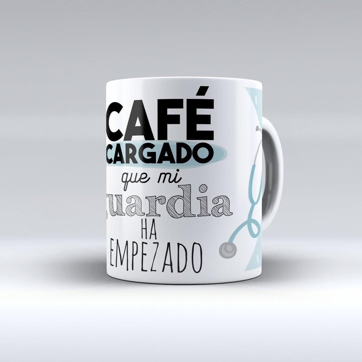 Taza cerámica desayuno regalo original profesión médico