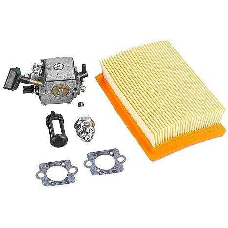 Luftfilter Mit Zündkerze für Stihl BR320 BR340 BR380 BR400 BR420 SR340 SR420