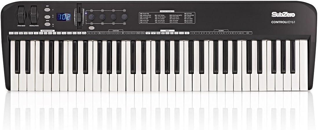 SubZero CONTROLKEY61 Teclado MIDI