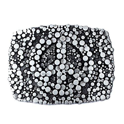 Crystal Rectangular Bracelets (Vintage Rectangular Turquoise Crystal Bling Tribal Belt Buckle Fashion Designer)