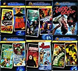 Monsters & Creatures Midnite 11 Movies DVD Set The Food of the Gods/ The Phantom from 10,000 Leagues / At the Earth's Core / Konga Yongary Monster From the Deep / Gorilla Mystery Monster Classic Films