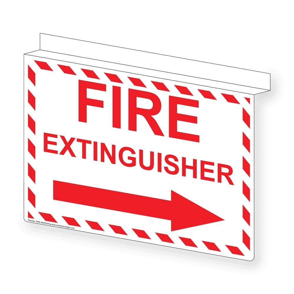 Amazon.com: compliancesigns Glow-in-dark señal de extintor ...