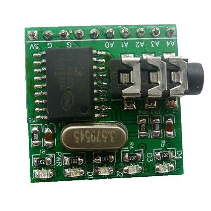 Amazon Eletechsup Mt8870 Dtmf Decoder Controller Audio Voice