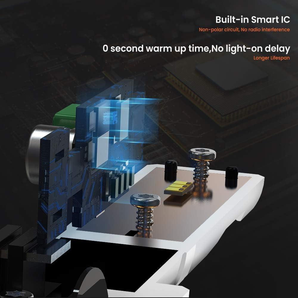 H8//H9 Ampoule de Brouillard 3000LM KOYOSO H11 Antibrouillards LED 12V 6000K Blanc