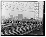Photo: Fourth Street Viaduct,Spanning Los Angeles River,Los Angeles,California,CA,1