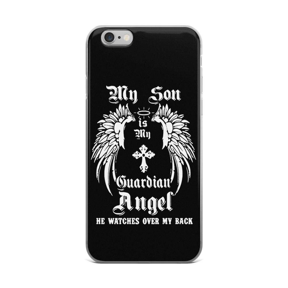 My Son is My Guardian Angel He Watches Over My Back Veteran Shockproof Case for iPhone 6 Plus/6s Plus by Karis Kita