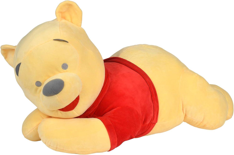 Simba 6315876876 - Peluche de Winnie The Pooh (80 cm), Color Rojo y Amarillo