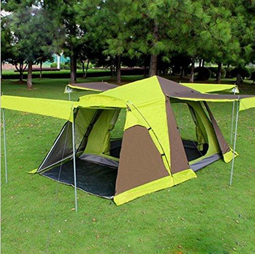 WZH 4-türige Zelt mit Schnee Rock 3-4 mehr als das doppelte Doppel-Zelt Zelt im freien Feld