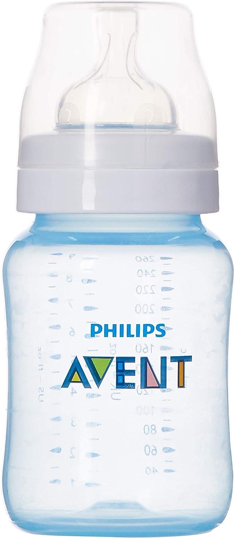 زجاجة رضاعة كلاسيك بلس من فيليبس افينت بسعة 260 مل – لون أزرق