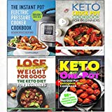 img - for Instant pot electric pressure cooker, crock pot cookbook for beginners and one pot ketogenic diet 4 books collection set book / textbook / text book