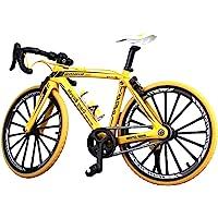 NUOBESTY Mini Bicicleta Dedo Bicicleta Juguetes de Metal