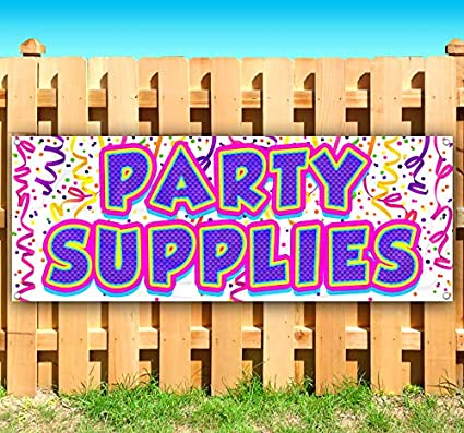Advertising Party Supplies 13 oz Heavy Duty Vinyl Banner Sign with Metal Grommets Store Flag, Many Sizes Available New