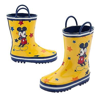 Disney Mickey Mouse Rain Boots for Kids Size 12 f2752fdedcd8
