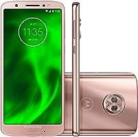 "Smartphone, Motorola, G6 XT1925, 64 GB, 5.7"", Ouro"
