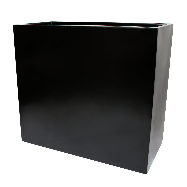 "Amazon Hamilton Tall Rectangle Fiberglass Planter Box L 36"" x"